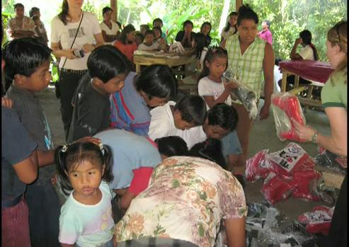 The Foundation works constantly on improving the Indigenous people's life
