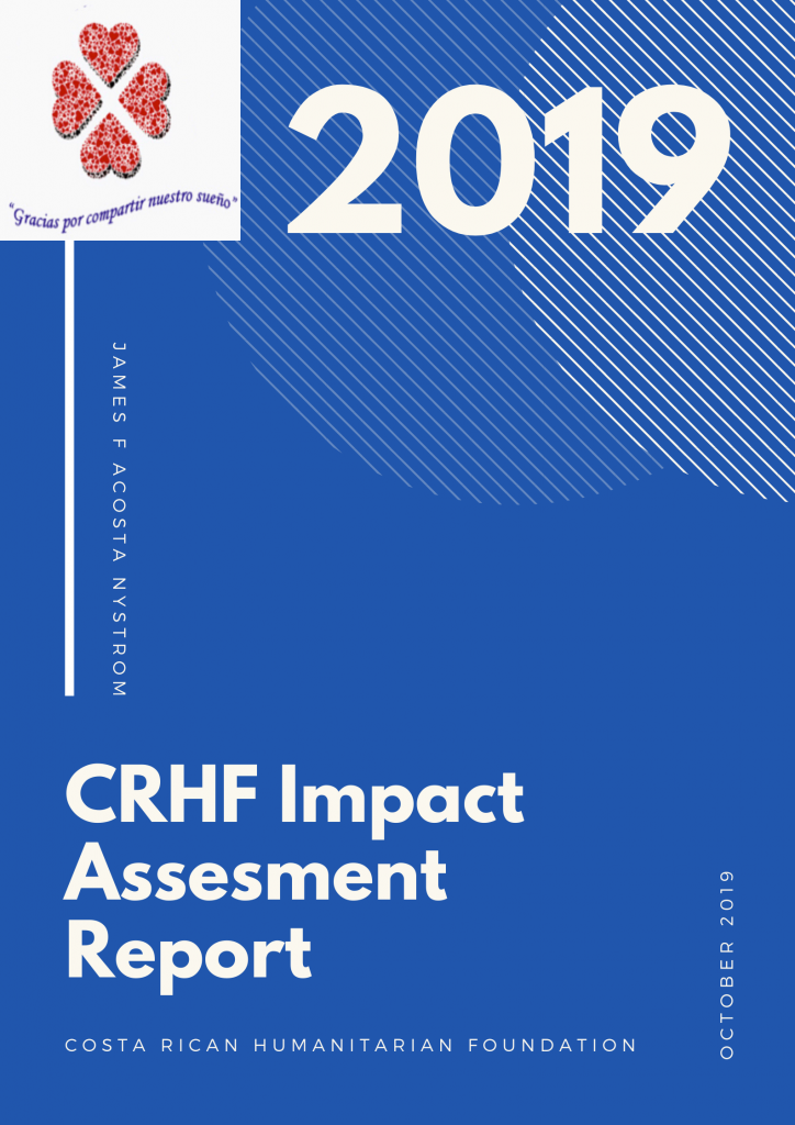 The impact assessment report of the CRHF 2019 measuring benefits to communities and volunteers