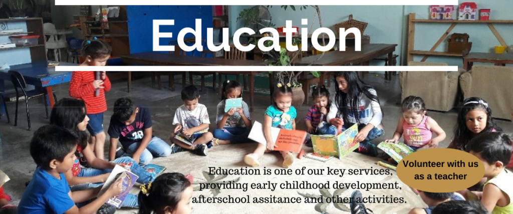 Volunteer Education In Costa Rica or help by donating.