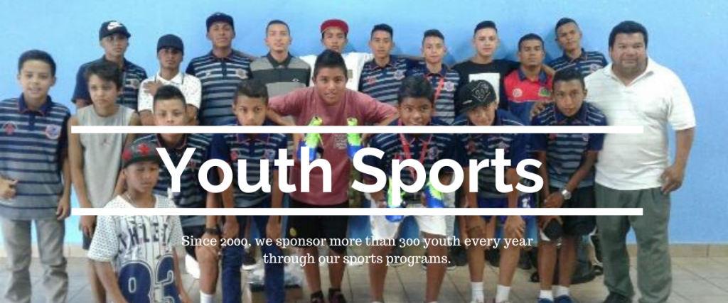 Click here to learn more about sports programs and how to contribute